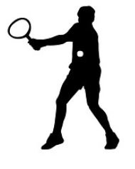 Tennis-Schatten