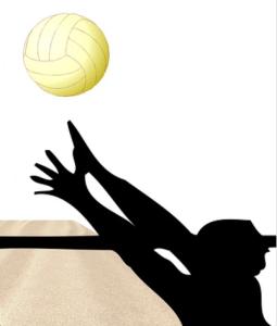 Volleyball-Schatten