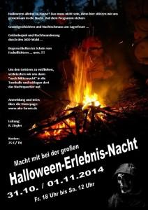 Halloween-Erlebnis-Nacht