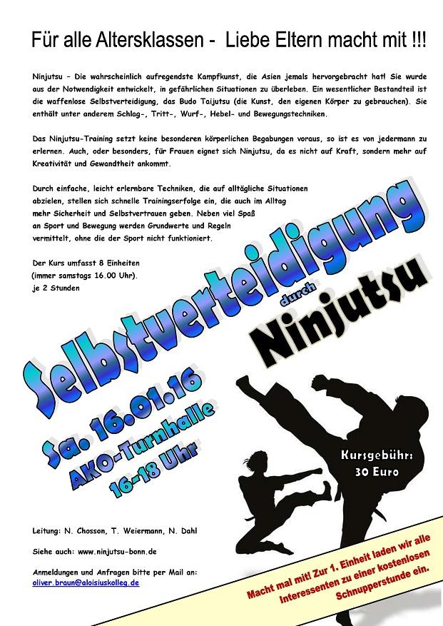 Ninjutsu - Jan. 16